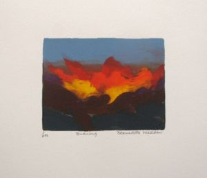 Burning_Screenprint_ Bernadette Madden