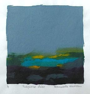 Turquoise Lake_Screenprint_Bernadette Madden - Version 2