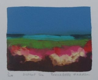 Distant Sea _Screenprint _Bernadette Madden