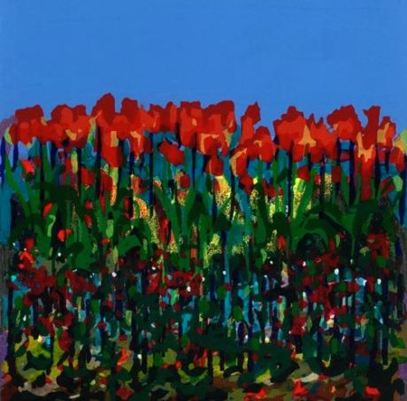 Tulips_Bernadette Madden_Screenprint